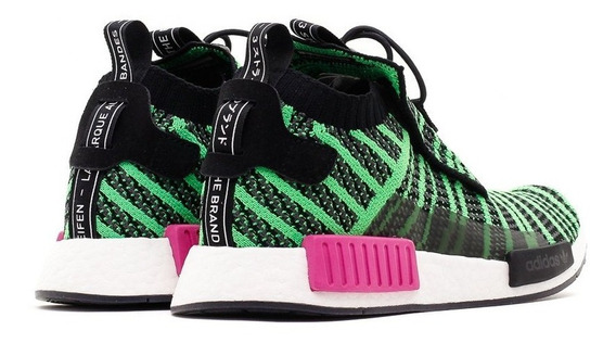 Tenis adidas Nmd Ts1 Prime Knit Pk Verde Casual Urbano Sneak