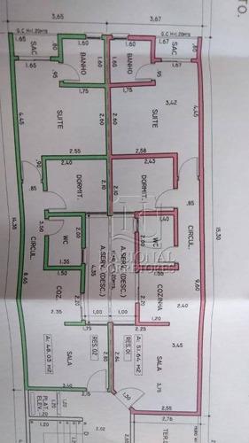 Cobertura Com 2 Dormitórios À Venda, 88 M² Por R$ 290.000,00 - Parque Das Nações - Santo André/sp - Co4964