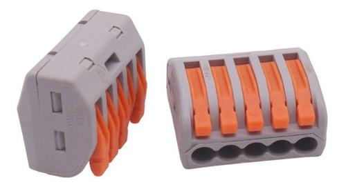 Conector Rápido X2 De 5 Cables - Ver Video - Precio Por 2