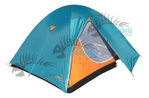 Imagen 1 de 6 de Carpa 4 Personas Spinit Camper Camping Trekking