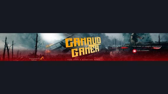 Kit Youtube: Banner, Intro + Brinde