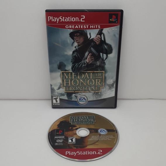 Jogo Medal Of Honor Frontline Playstation 2 Mídia Física