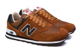 Tênis New Balance 574 Caramelo