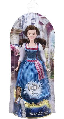 Muñeca Princesa Bella Y Bestia Disney Store Película Hasbro