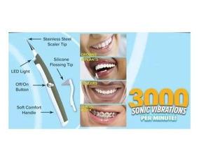 Aparelho Limpeza Dental Sonic Oral Elétrico Máquina Remover