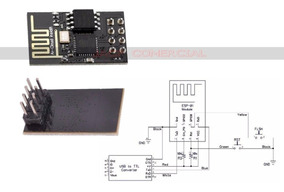 Adaptador Usb Para Módulo Wifi Esp8266 Esp-01 Ch340 Pic