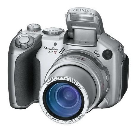 Canon S2is Com Adap. E Filtros Hoya 58mm Macro E Uv Quebrada
