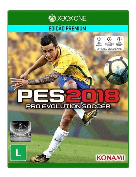 Jogo Pes 2018 Xbox One Edição Premium