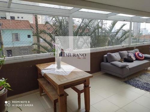 Apartamento Para Venda Em São Paulo, Mooca, 3 Dormitórios, 1 Suíte, 3 Banheiros, 2 Vagas - Moo120ibi_1-1825996