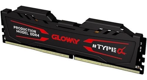 Imagem 1 de 2 de Memoria Ram Ddr4 Gloway 16gb 2666mhz Lacrada Desktop Dissipa