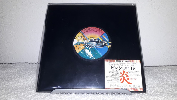 Pink Floyd - Wish You Were Here Promo Obi Mini Lp Cd Japan