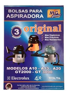 Bolsas Para Aspiradora Electrolux A10. . A13. A20. Gt 2000