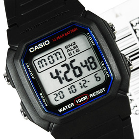 Relogio Casio W800h Classico Bateria 10 Anos W800h Original