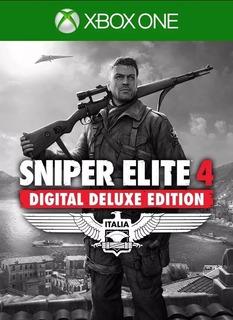 Sniper Elite 4,xbox One, Juego Offline