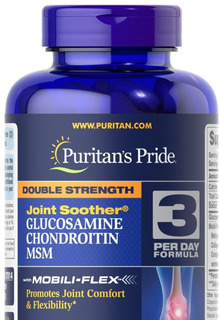 Glucosamina E Condroitina C/ Msm Puritans 60 Caplets