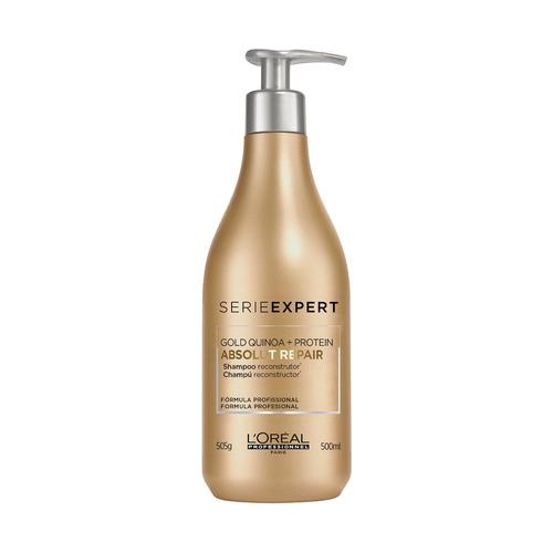 Imagem 1 de 7 de Shampoo Gold Quinoa + Protein 500ml L'oréal Professionnel