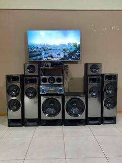 Equipo De Sonido Sony Muteki 7.2 Usado