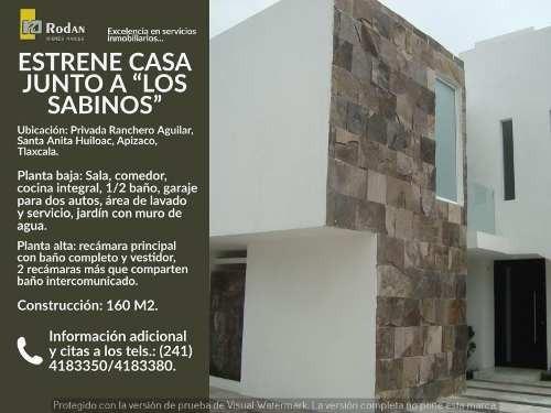 Casa Sola En Venta Santa Anita Huiloac