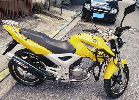 Honda Cbx250 Twister 08/08 3º Dono / Documentação 2020 Ok