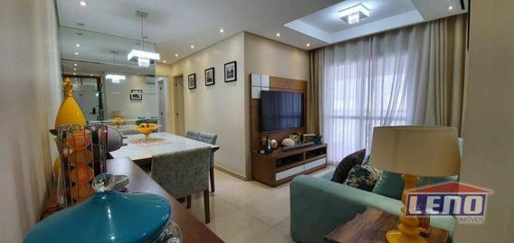Apartamento Com 2 Dormitórios À Venda, 69 M² Por R$ 495.000,00 - Penha De França - São Paulo/sp - Ap0548