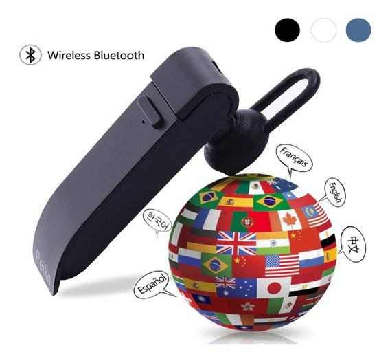 Tradutor Peiko Bluetooth Interativo 25 Idiomas Fone Ouvido