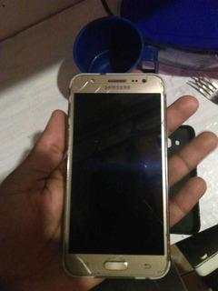 Celular Samsung Galaxy J5 Dourado 16 Gb