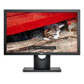 Monitor Led Tn 18,5 Widescreen Dell E1916h Preto