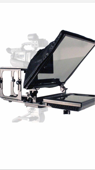 Teleprompter Galaxy Series Standard 17+case With Foram Black