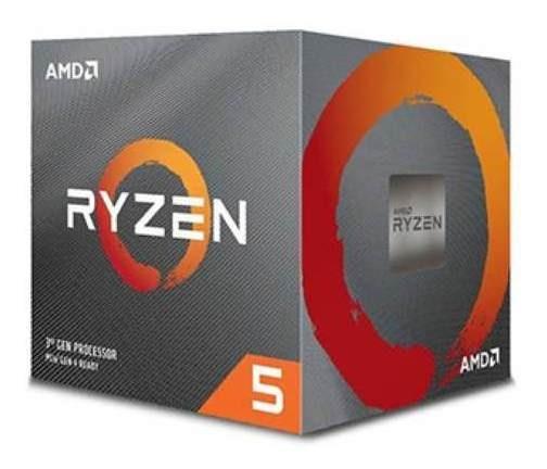 Processador Amd Ryzen R5 3600x 4.4ghz Ddr4 Am4 32mb Cache P!