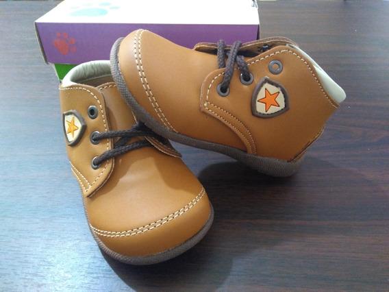 Zapatos Cafes Para Bebes Caminantes Mod341