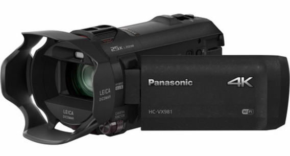 Panasonic Hc Vx981k 4k Ultra Hd Camcorder