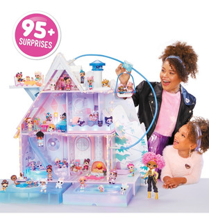 L.o.l. Lol Surprise Winter Disco Doll Casa Con 95 Sorpresas