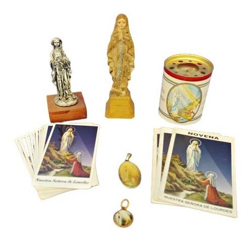 Combo Virgen De Lourdes - Oferta Liquidación Santería /p