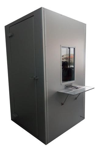 Cabina Sonoamortiguada Para Audiometria Y Audiologia