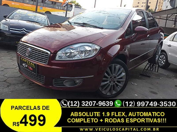 Fiat Linea Absolute 1.9 Dualogic 2010