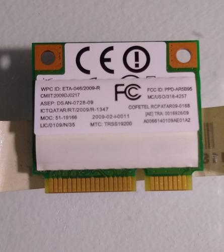 Placa Wifi All In One Lenovo C205
