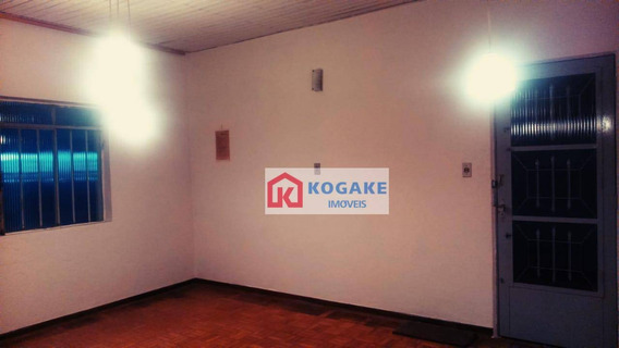 Casa Com 2 Dormitórios Para Alugar, 60 M² Por R$ 870,00/mês - Centro - São José Dos Campos/sp - Ca2632