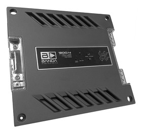 Módulo Amplificador Banda 1200.4 12.4d 4 Canais 2 Ohms