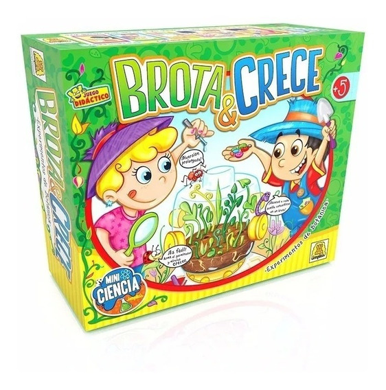 Brota Y Crece - Juego Botánica - Mini Ciencia Implás - M.c.a