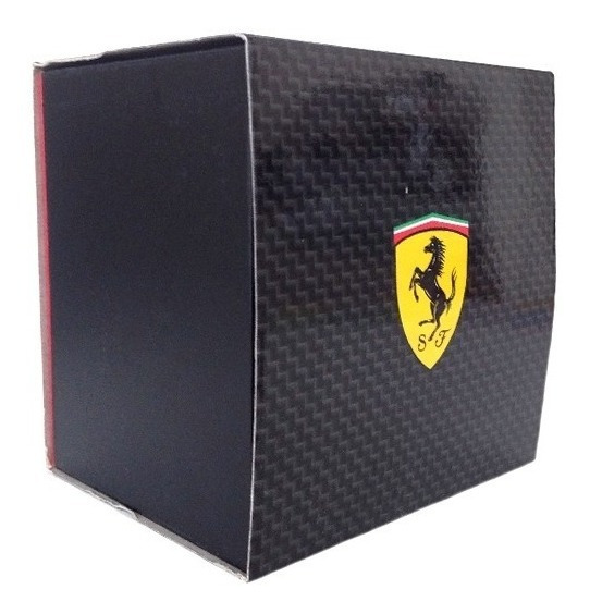 Relógio De Pulso Scuderia Ferrari Original Preto Novo