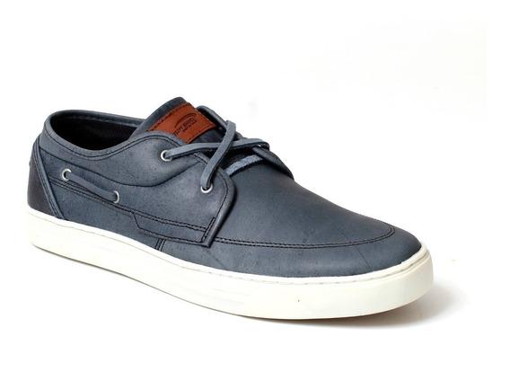 Sapatênis Dock Sider Masculino Em Couro Legítimo Tchwm Shoes