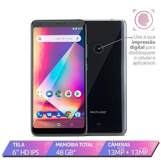 Smartphone Multilaser Ms60z 2gb Ram Tela 6 Ipshd 16gb