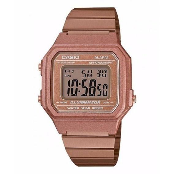 Relógio Casio Feminino Rose Vintage Digital B650wc 5adf