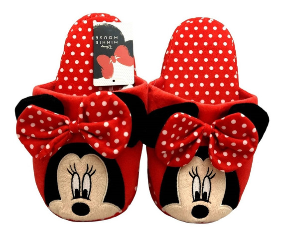 Pantufa Chinelo Infantil Minnie Mouse Disney Tamanho 30/31
