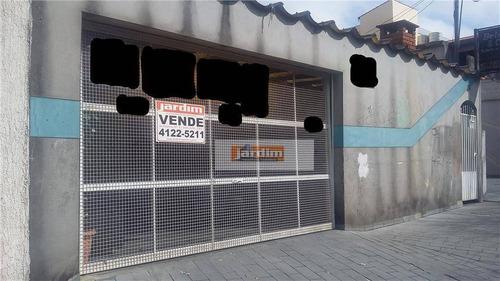 Casa Residencial À Venda, Vila Caminho Do Mar, São Bernardo Do Campo. - Ca0464