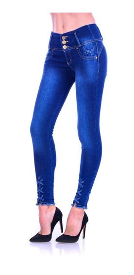 Pantalón De Mezclilla Jeans Gs-1818