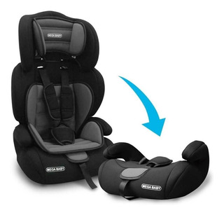 Butaca Booster Auto Bebe Niño Mega Baby 9-36kg Desm Promo