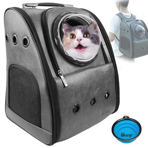 Petrip Mochila Para Perros Y Gatos, Mochila Para Gatos Gr