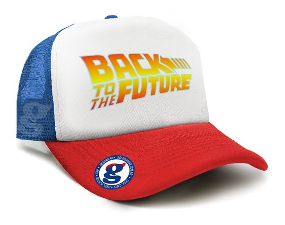 Gorra Trucker Volver Al Futuro Vintage Back To The Future