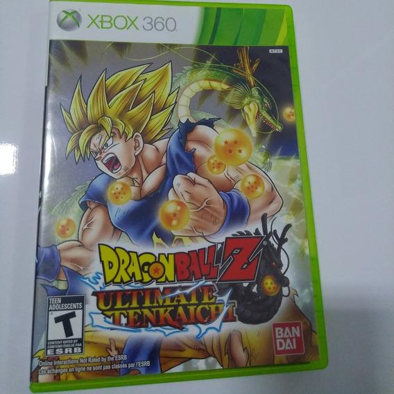 Dragon Ball Z Ultimate Tenkaichi Mídia Física